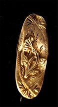 Sterling Silver Victorian Brooch Pin Hallmarked C100 - $120.77