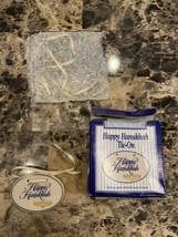 Longaberger 1995 Happy Hanukkah Basket Tie-On - $8.95