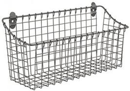 Spectrum Diversified Vintage Wall Mount Storage Basket, Extra Large, Ind... - $27.55
