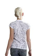 Famous Stars & Straps Womens Black or White Delirious Juniors T-Shirt 101672 NWT image 6