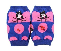 2 Pairs Catoon Toddler Knee and Elbow Pads Kids Knee Pads Purple image 2