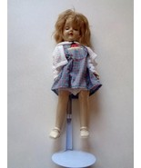 Vintage 1950s Ideal P-91 Toni With Sleep Eyes Plastic Head Blond Haired ... - $48.44