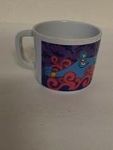 Vintage Zak Designs Disney Plastic Cup Mug 90's ALADDIN Rare HTF  - $4.63