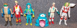 Vintage 1980s Ghostbusters Lot of 6 Figures - $49.99
