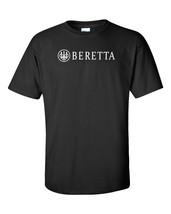 Beretta Script White Logo T Shirt 2nd Amendment Pro Gun Rights Rifle Pis... - $17.99+