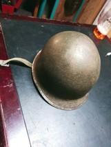 WWII Helmet With Liner - $396.00