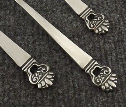 "National Stainless King Eric Set of 4 Teaspoons  6 1/4"" Japan-2 Sets Available - $19.95"