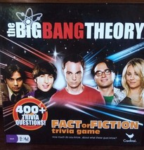 The Big Bang Theory Fact Or Fiction Trivia Board Game - $12.20