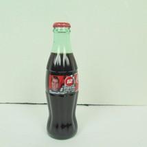 Coca-Cola 1999 NASCAR Raceing Family 8oz Collectible Glass Bottles #12 o... - $4.46