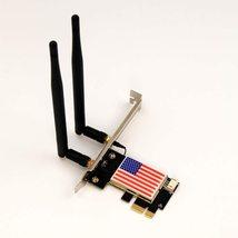 WiFi 6 PCIe WiFi Card Wireless Card for PC with Bluetooth 5.1, 802.11AX - $35.00