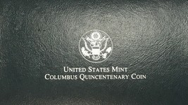 1992 United States Mint Columbus Quincentenary Coin - $24.49