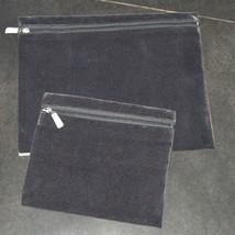 Tallit Tefillin Bag Case Set Plush Suede Gray Gold Cream Embroidery Judaica image 3