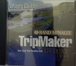 Rand McNally Tripmaker Deluxe 1999 CD-ROM - $5.66
