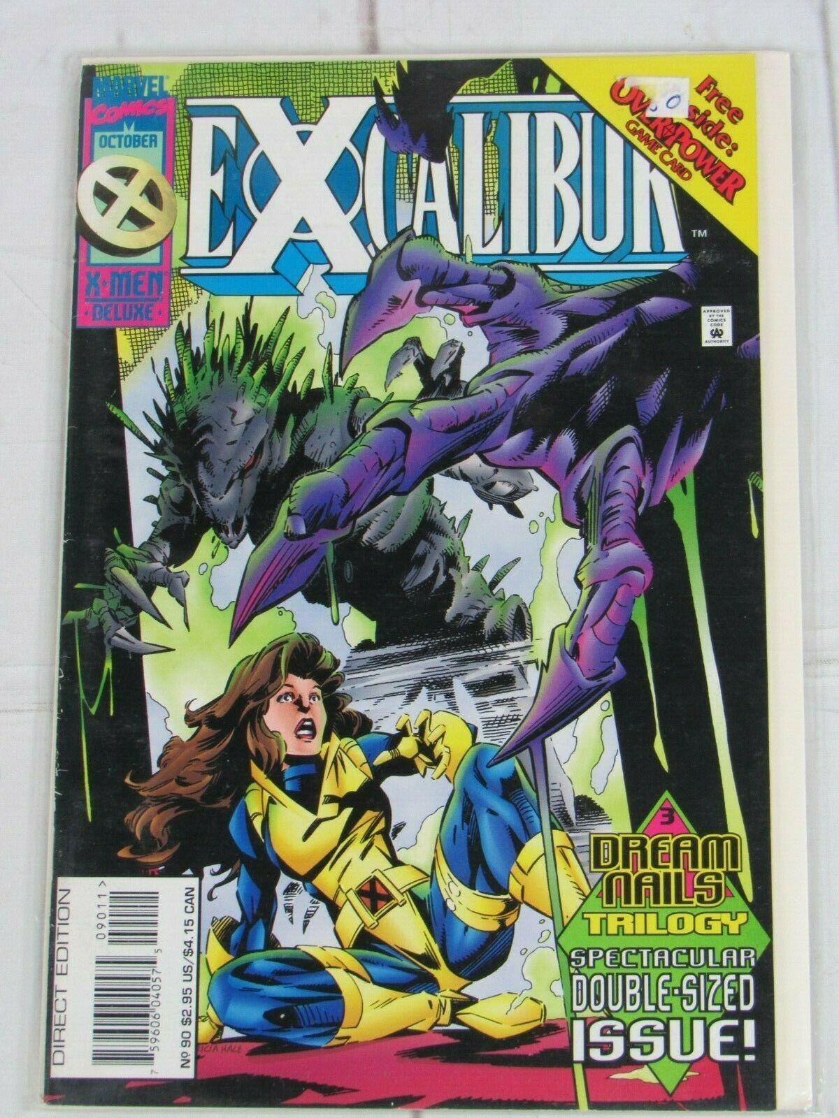 Excalibur #90-94 Lot of 5 comics 1995 Marvel Comics - C5049