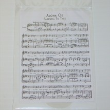 American Girl Nanea Mitchell Doll Hula Implements Two Sheets of Music Only  - $8.99