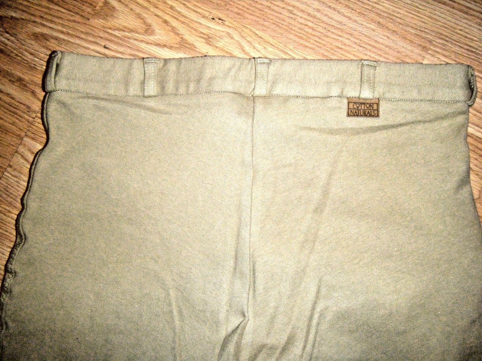 ON COURSE STRETCH TAN RIDING PANTS SIZE 34