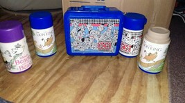 Disney vintage collection of thermoses and lunchbox 101 Dalmatians Lion King,++ - $39.60