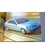 2004 mercedes s55 amg s600 s500 s430 owners sales brochure s class new o... - $19.06