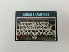 1971 Topps World Champions Baltimore Orioles #1 Baseball Card Vg-Ex No C... - $7.84