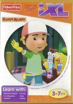 Fisher Price iXL Learning System Handy Manny Ages 3-7 6 ways to Play - $5.99