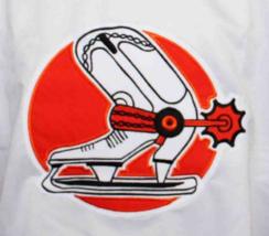 Bob Gassoff #3 Denver Spurs Custom Retro Hockey Jersey New White Any Size image 3