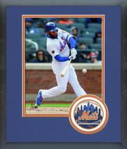 Amed Rosario 2018 New York Mets Batting - 11x14 Team Logo Matted Framed Photo - $43.95