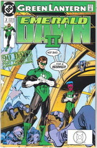 Green Lantern Emerald Dawn II Comic Book #2 DC Comics 1991 VFN/NEAR MINT... - $2.75