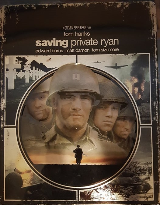 Saving Private Ryan Target Exclusive Steelbook [Blu-ray]