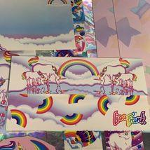 ⚡️SALE  Markie The Unicorn Lisa Frank Stationery Lot  Postalettes Stickers image 7