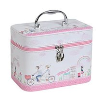 Cosmetics Case Makeup Train Case Makeup Organizer Toiletry Bag -A6 - $673,12 MXN