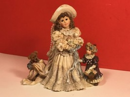 Yesterdays Child Dollstone Collection Figurine Boyds Bears Future Emily Kathleen - $19.75