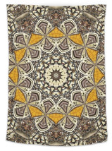 Abstract Digital Geometric Pattern Kaleido - 26x36 Wall Tapestry w/ Grom... - $707,53 MXN