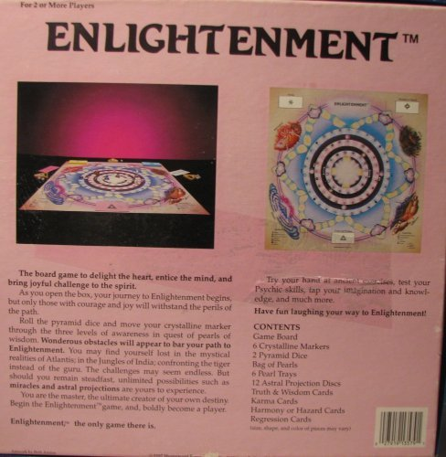 "Enlightenment ""The Only Game There Is"" Board Game [Game Complete]"