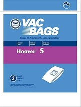 DVC Hoover Style S Vacuum Cleaner Bags Made in USA [ 75 Bags ] - $90.94