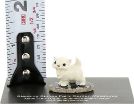 Hagen Reanker Miniature Cat Tiny Persian Kitten on Base Stepping Stones #2738 image 2