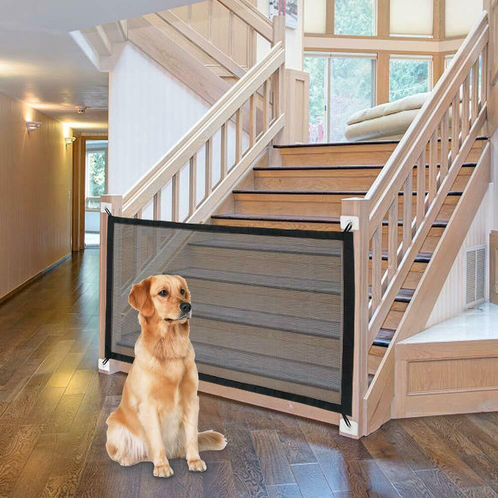 Primary image for Dog Gate Ingenious Mesh Dog Fence For Indoor and Outdoor Safe Pet Dog gate