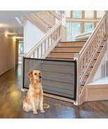 Dog Gate Ingenious Mesh Dog Fence For Indoor and Outdoor Safe Pet Dog gate - £14.35 GBP