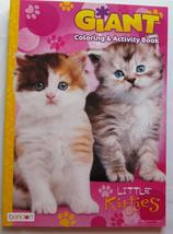 Little Kitties Coloring Book Giant Tear and Share Pages of Cats and Kitt... - $2.99
