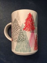 Starbucks 2017 Holiday Coffee Mug Trees 12 oz. Christmas EUC - $5.81