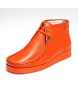 LibertyZeno Men's Genuine Leather Moccasin Toe Chukka Casual Shoes L-HJ101 - $59.99