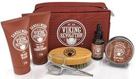 Beard Care Kit for Men Gift- Beard Grooming Kit Contains Travel Size Beard Oil,