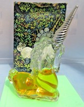 Avon unicorn bottle collectible glass decorative vintage figurines animals - $12.09