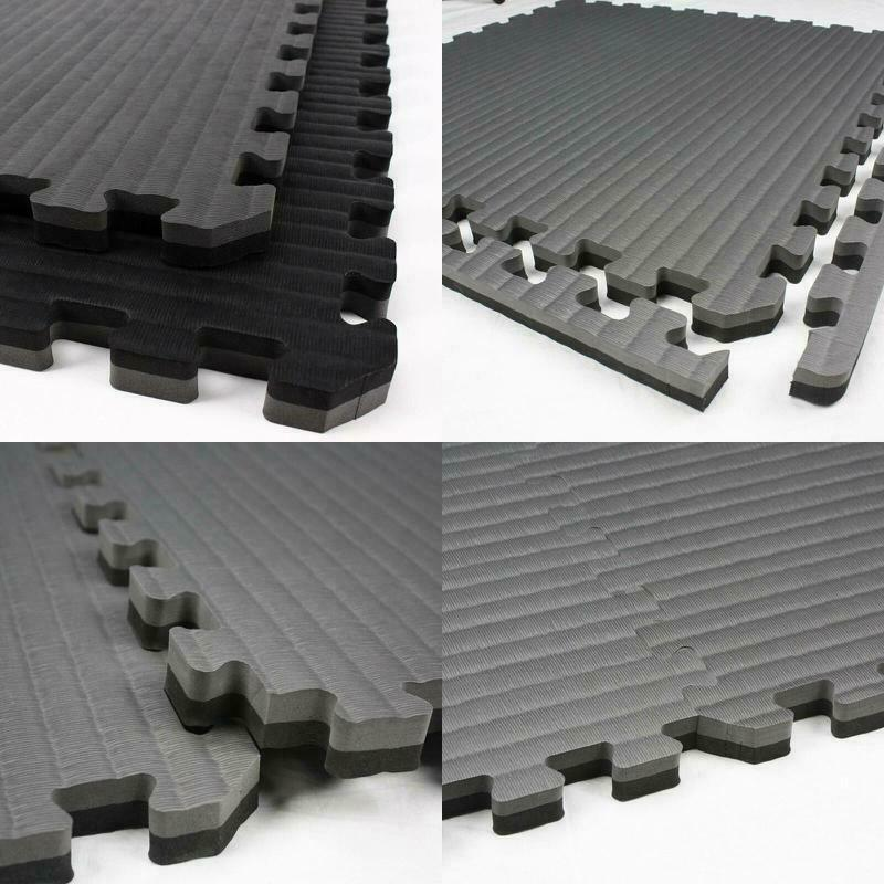 Incstores - Tatami Foam Tiles - Extra Thick Mats Perfect For Martial Arts, Mma,