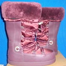 UGG Australia COTTRELL Deep Bordeaux Waterproof Women Snow Boots Size US... - $1.518,99 MXN
