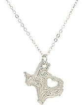 "Montana Silversmiths Women's""I Heart Texas"" Necklace (One Size