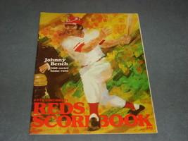 Cincinnati Reds Scorebook 1978 Johnny Bench 300 Career Home Runs Reds vs... - $15.00