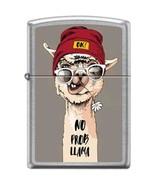 No Prob Llama Satin Chrome Zippo Lighter - $28.45