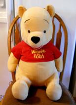 "DISNEY Winnie the Pooh Plush Toy Large Stuffed Animal 22"" Tall Nursery D... - $29.65"