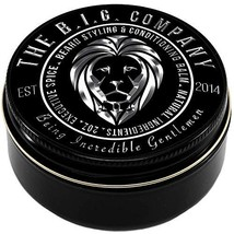 Beard Balm Leave-in Conditioner with Natural Bees Wax, Jojoba & Argan Oil - Styl