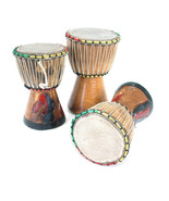 """Drum - Handcrafted D'Jembe Drum: Size - X-Small,  6- 8"""" tall,  4 - 5"""" Di... - $59.00"""